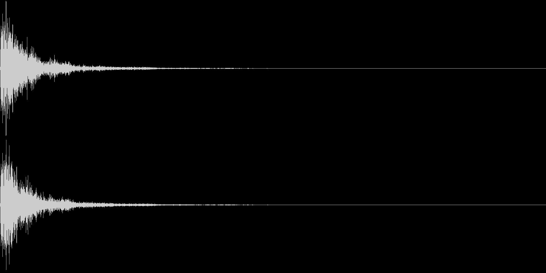 JapanPerc 和の打楽器 2の未再生の波形