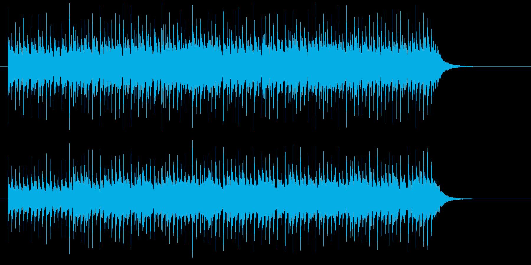 キラキラ出囃子の再生済みの波形