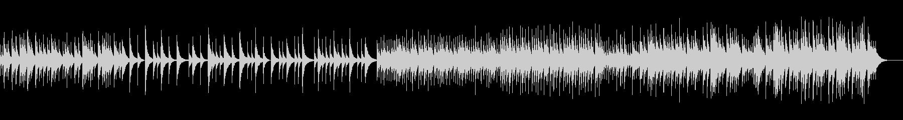 オルゴールのヒーリングの未再生の波形
