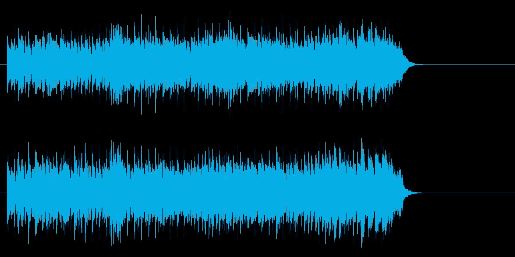 爽やかな歌謡曲風ポップス(サビ~エンド)の再生済みの波形