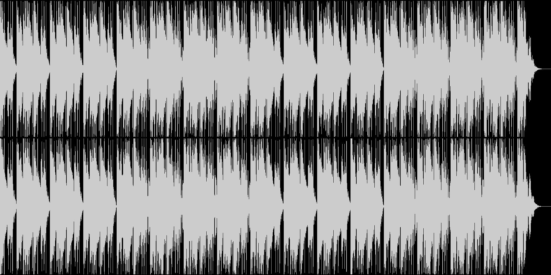 大人な雰囲気のR&B風BGMの未再生の波形