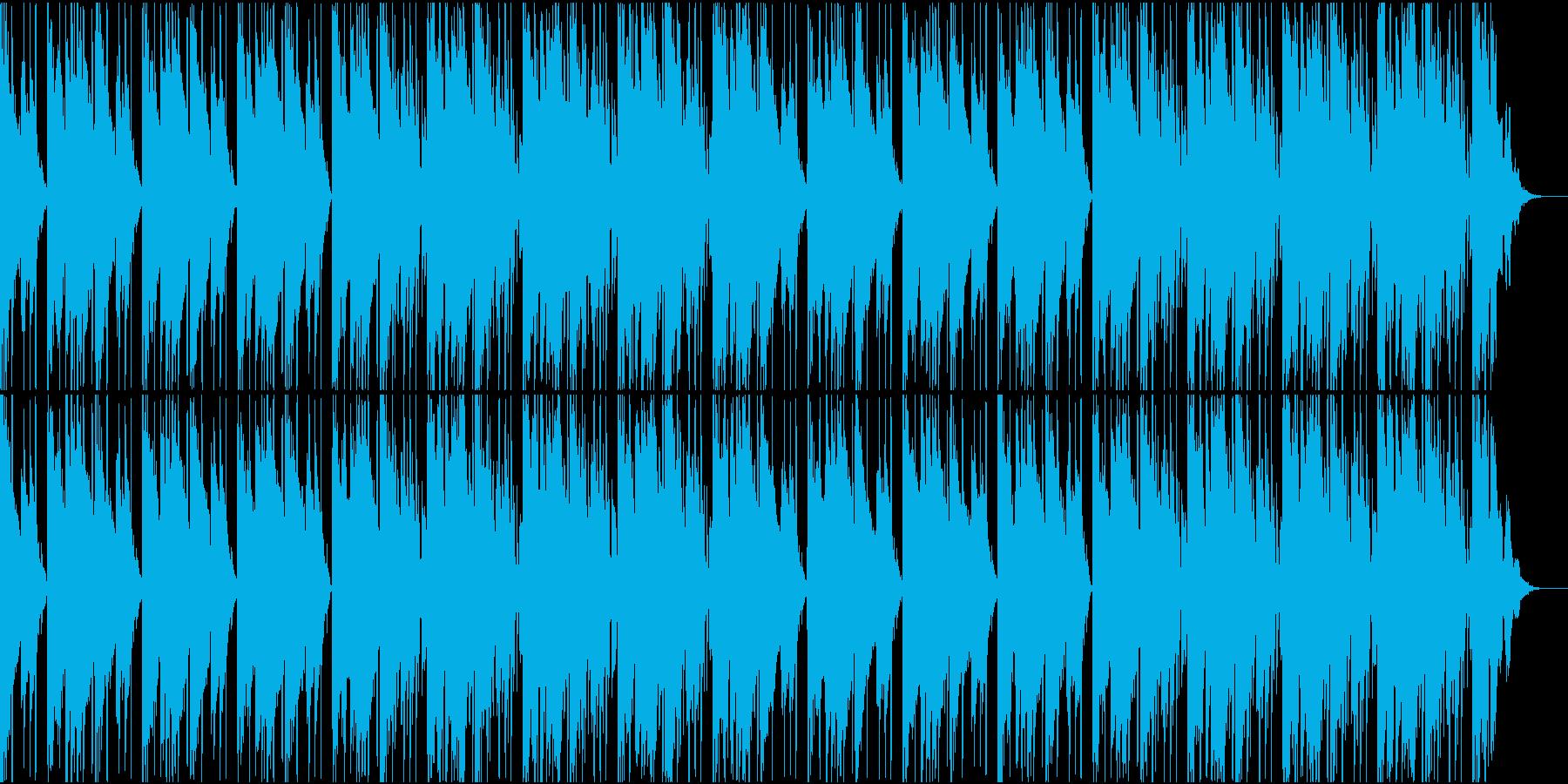 大人な雰囲気のR&B風BGMの再生済みの波形