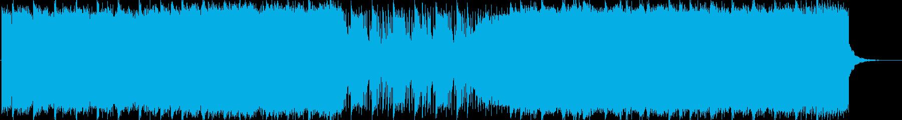 幻想的で近未来なBGMの再生済みの波形