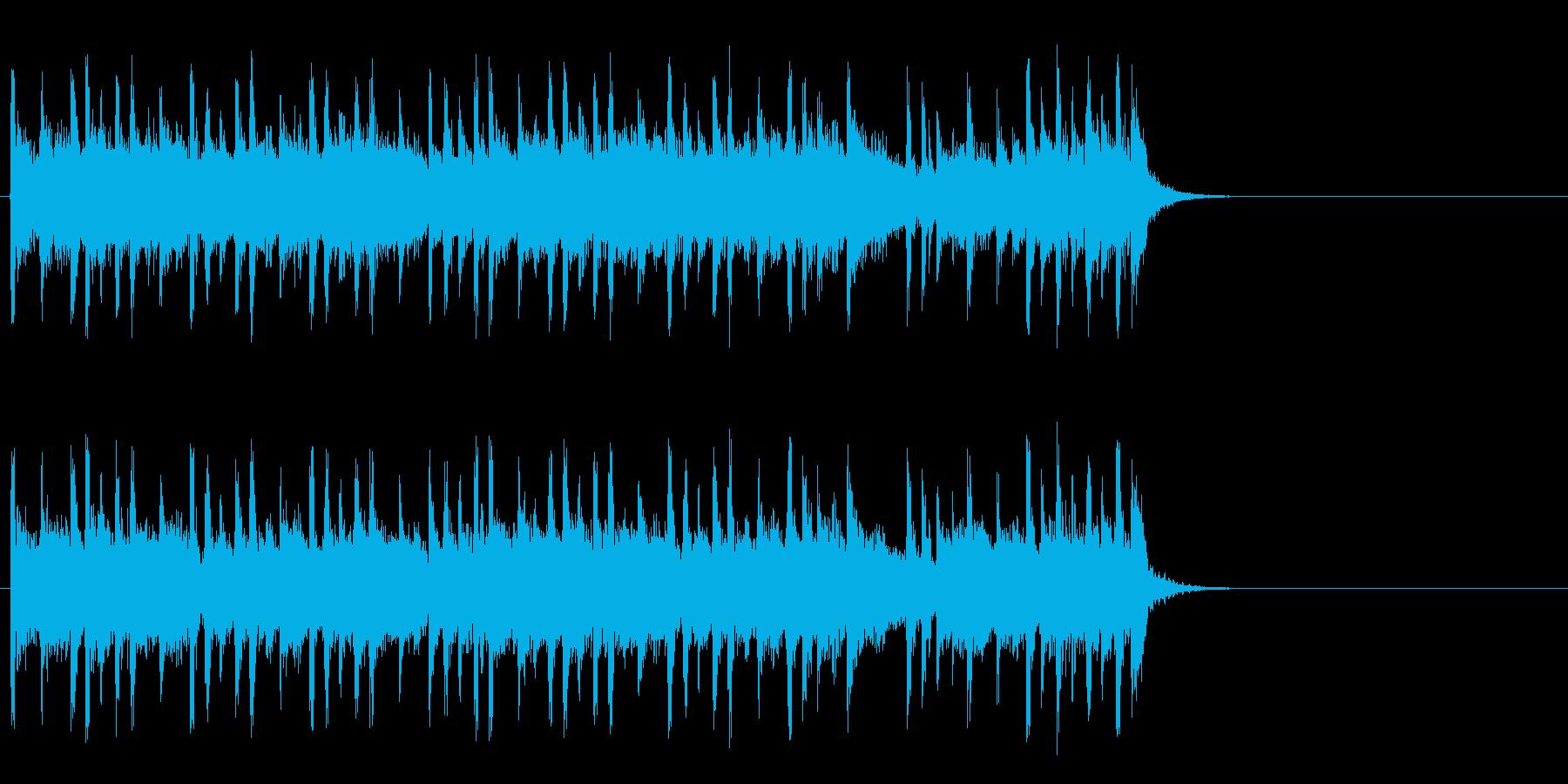 大らかな気分になるポップ(Bメロ)の再生済みの波形