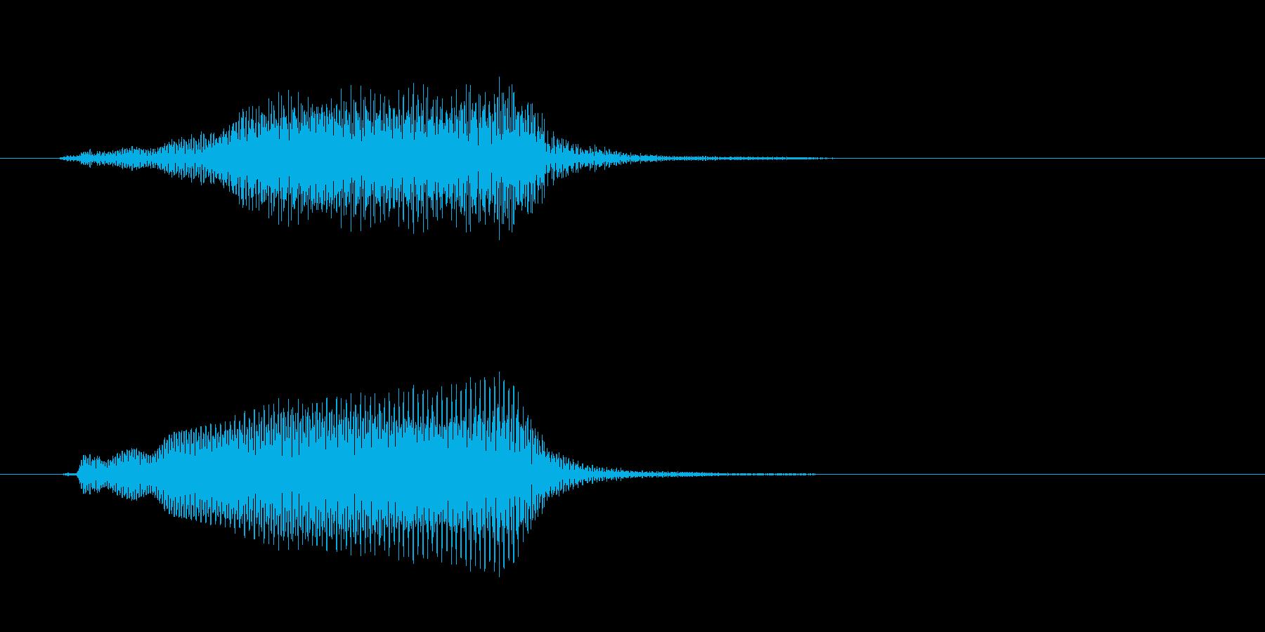 ぷわっの再生済みの波形