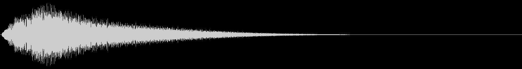 グリッサンド07 ビブラフォン(上昇)の未再生の波形