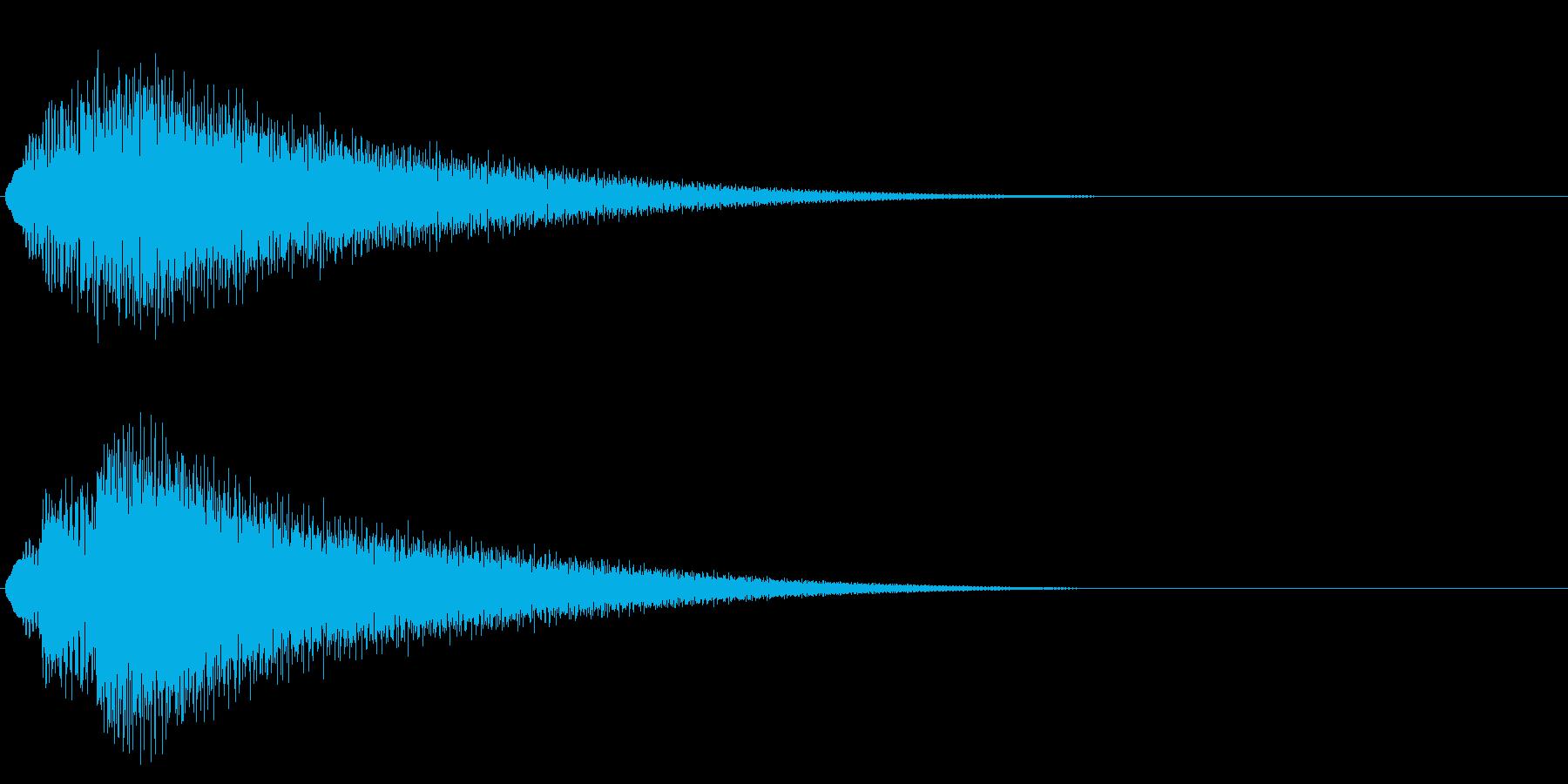 グリッサンド07 ビブラフォン(上昇)の再生済みの波形