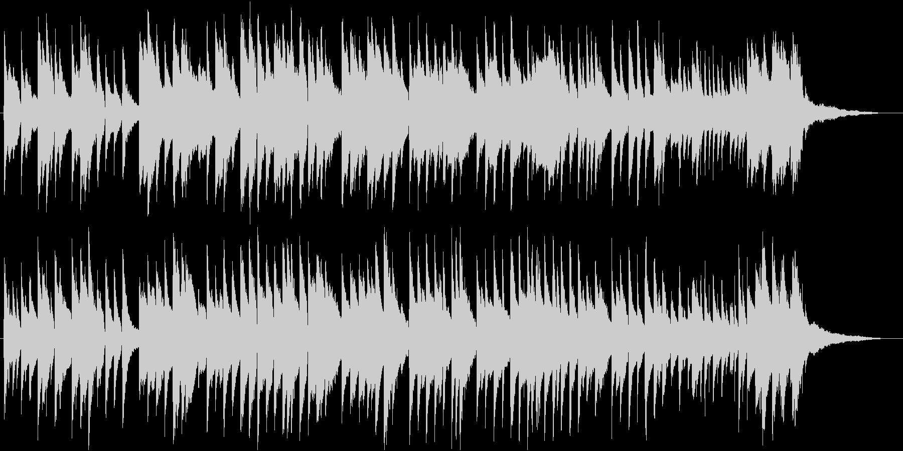 「七夕さま」をロマンチックなピアノソロでの未再生の波形