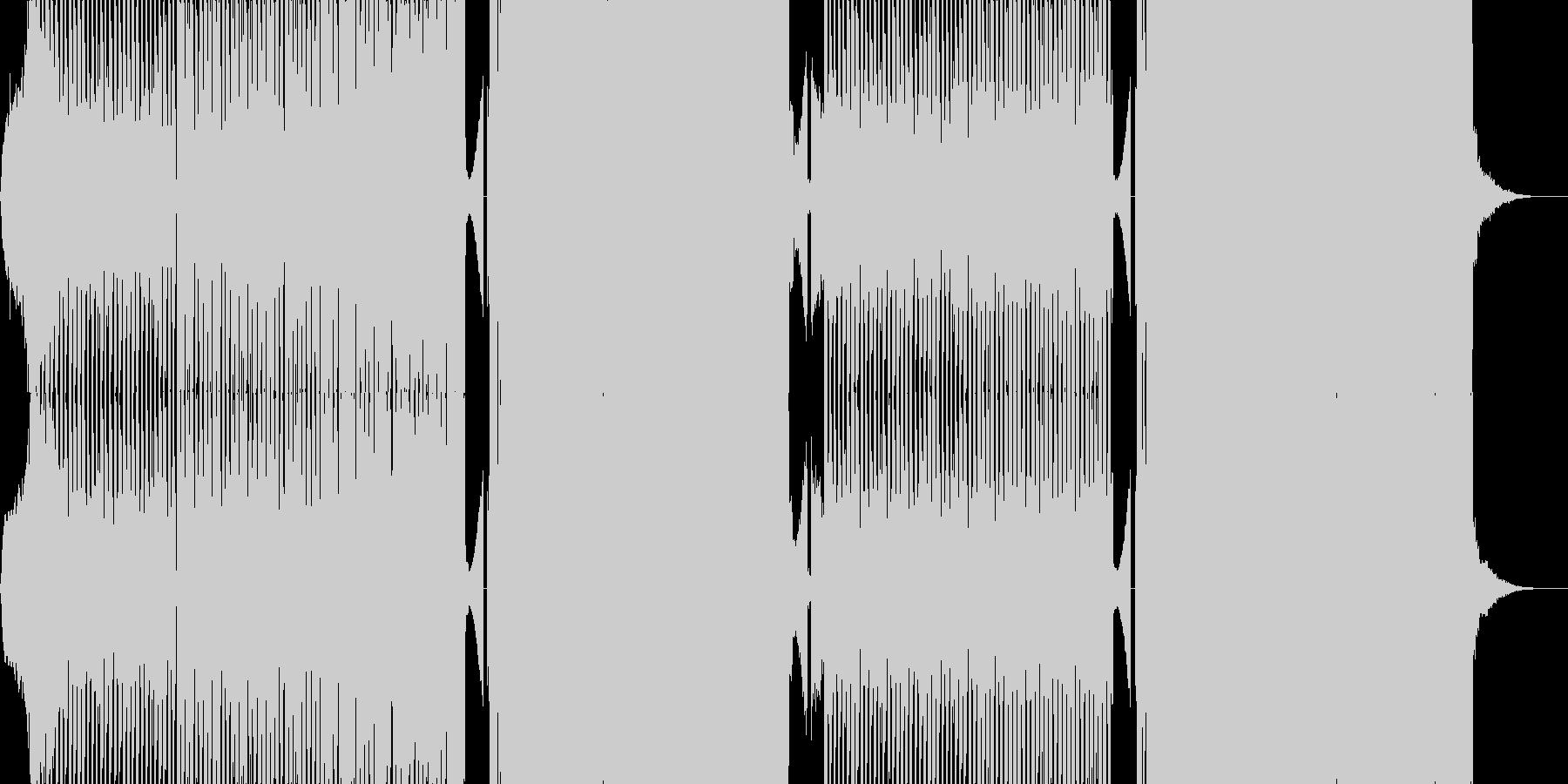 ライアーゲーム風テクノの未再生の波形