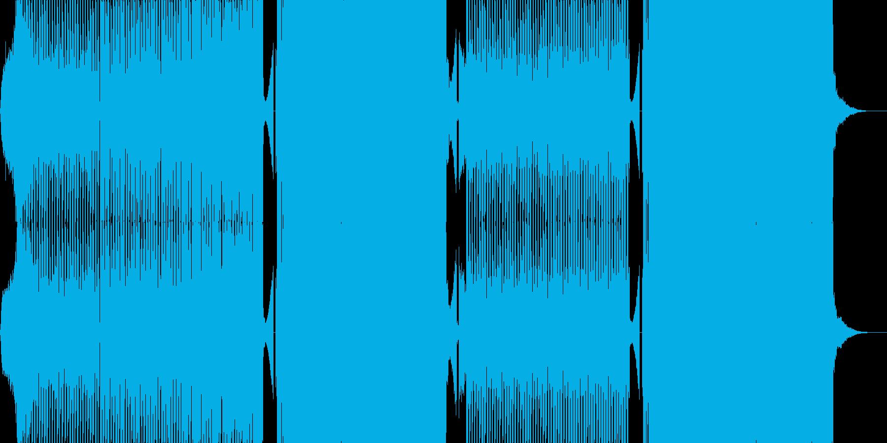 ライアーゲーム風テクノの再生済みの波形
