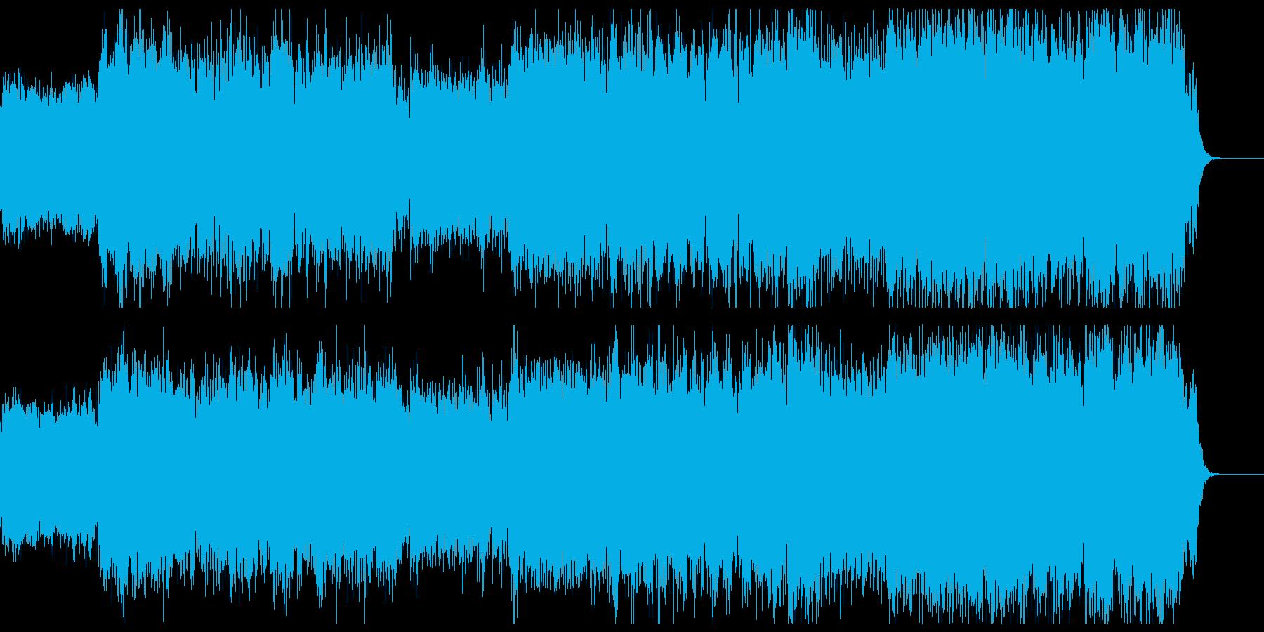 異世界の宇宙へつながるBGMですの再生済みの波形