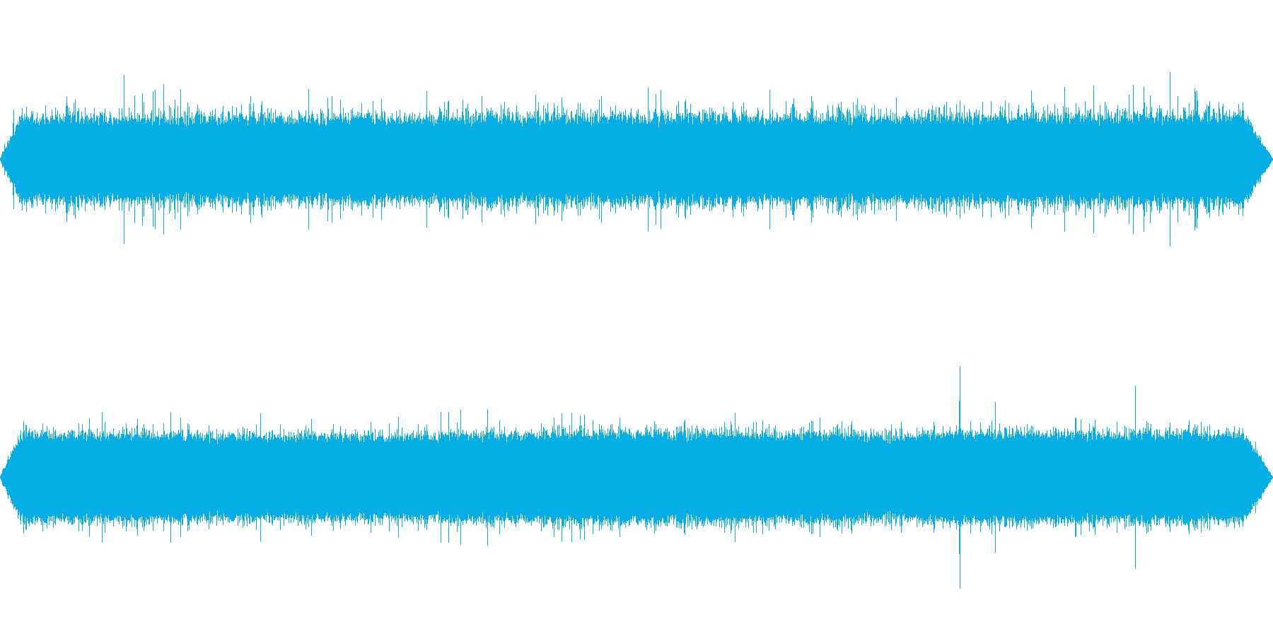 【自然音】川の流れる音01(清里)の再生済みの波形