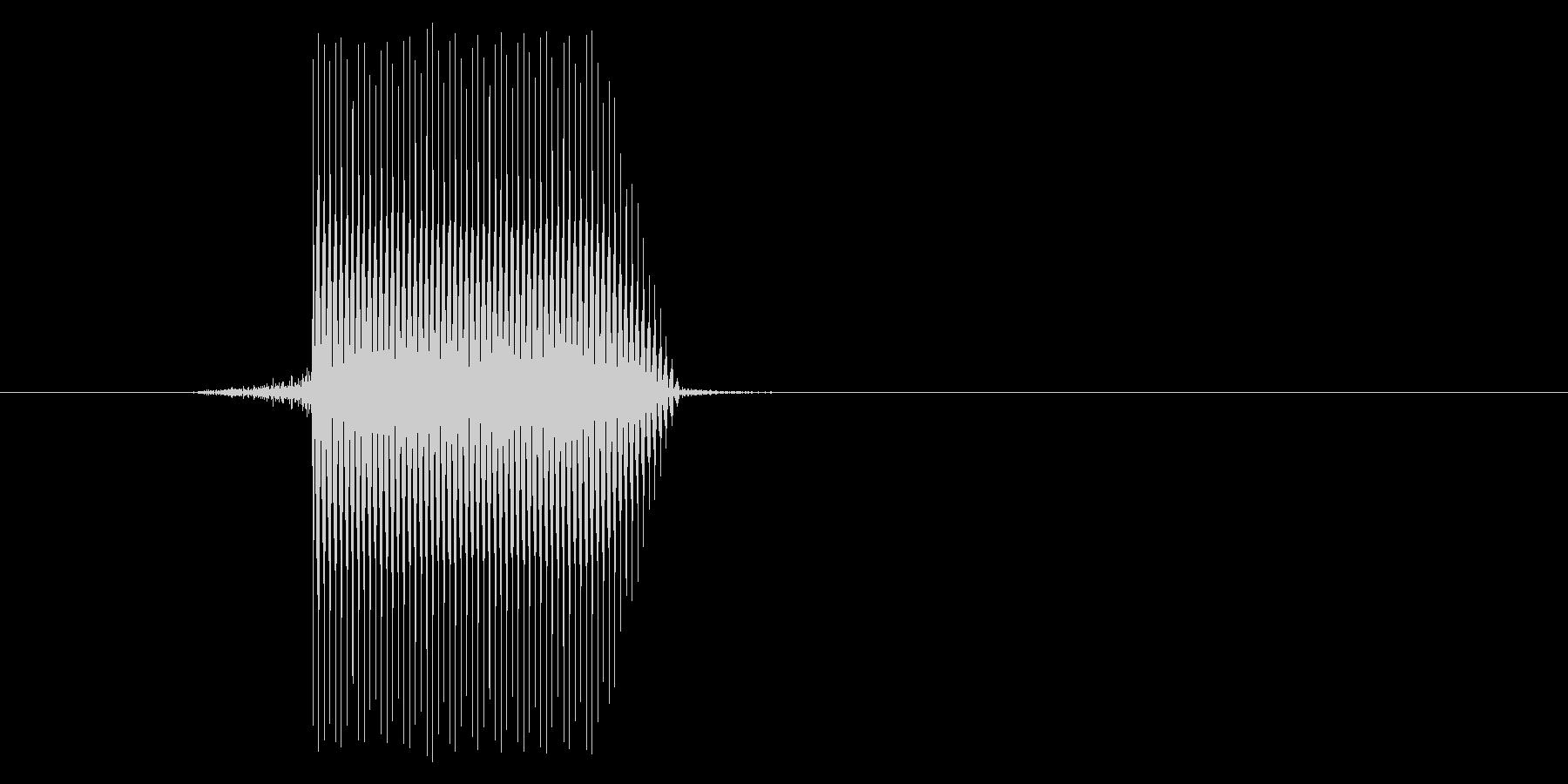 ゲーム(ファミコン風)セレクト音_007の未再生の波形
