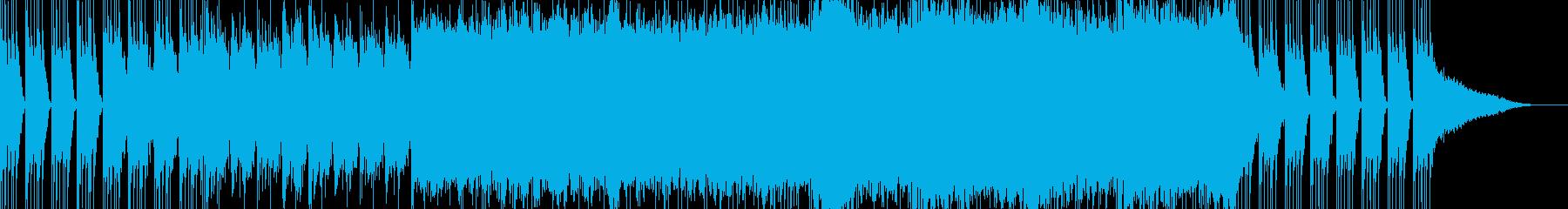 ヘヴィなBGMです。シリアスなシーンに。の再生済みの波形