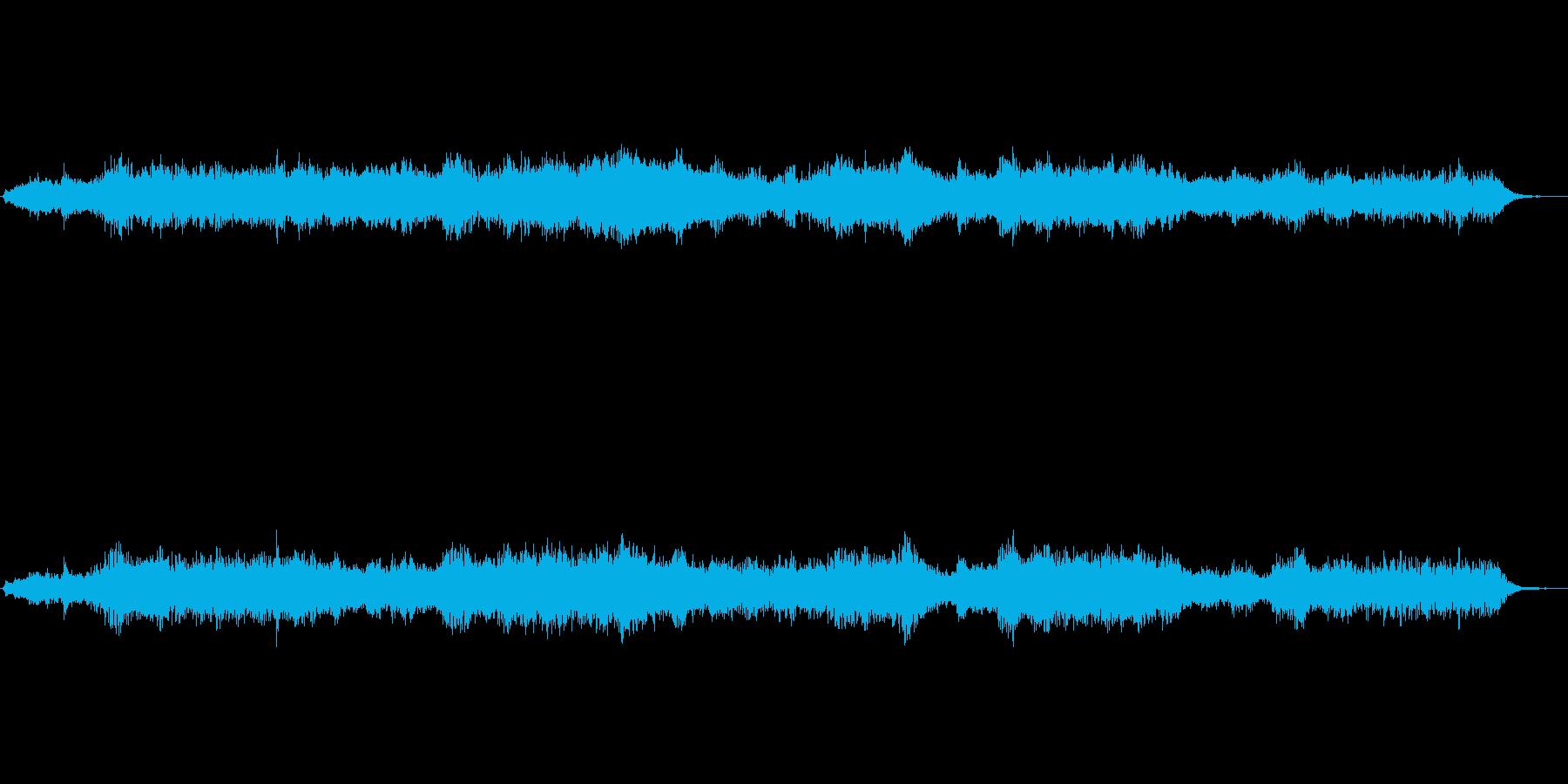 【効果音】ホラー系環境音(アンビエント)の再生済みの波形