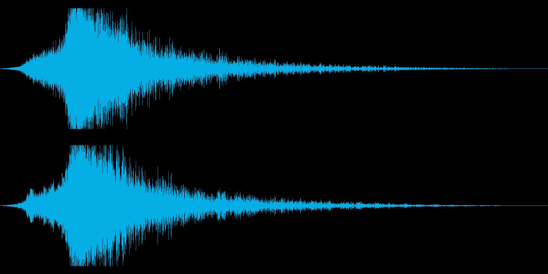 シャキーン♪クリア,達成,回復等に最適7の再生済みの波形
