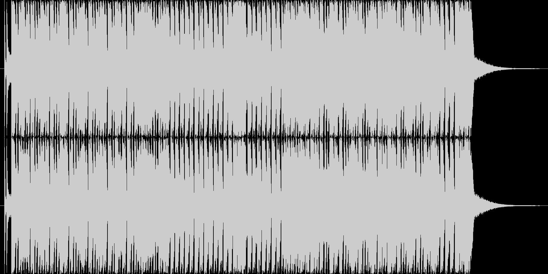 陽気なマーチングバンドの未再生の波形