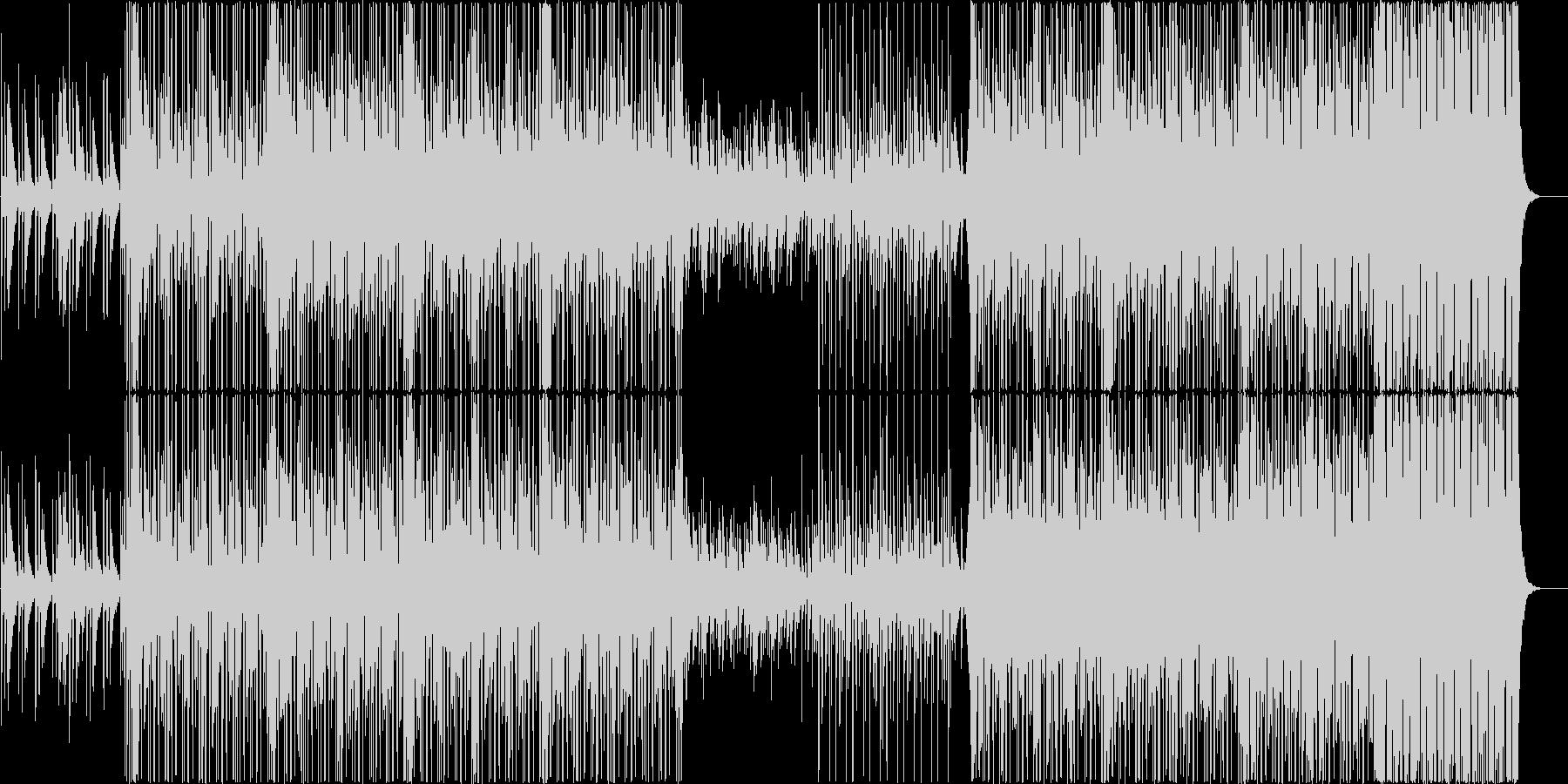 【メロディ抜き】三味線とバイオリンの和風の未再生の波形