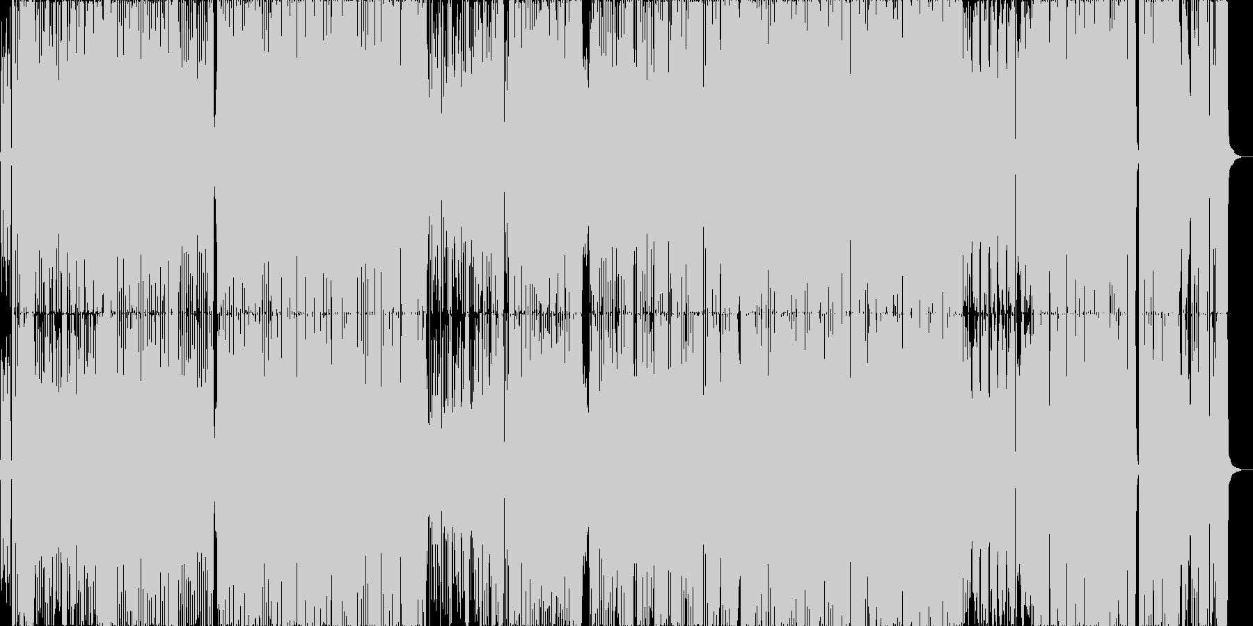 オープニングに最適ポップロックシャッフルの未再生の波形