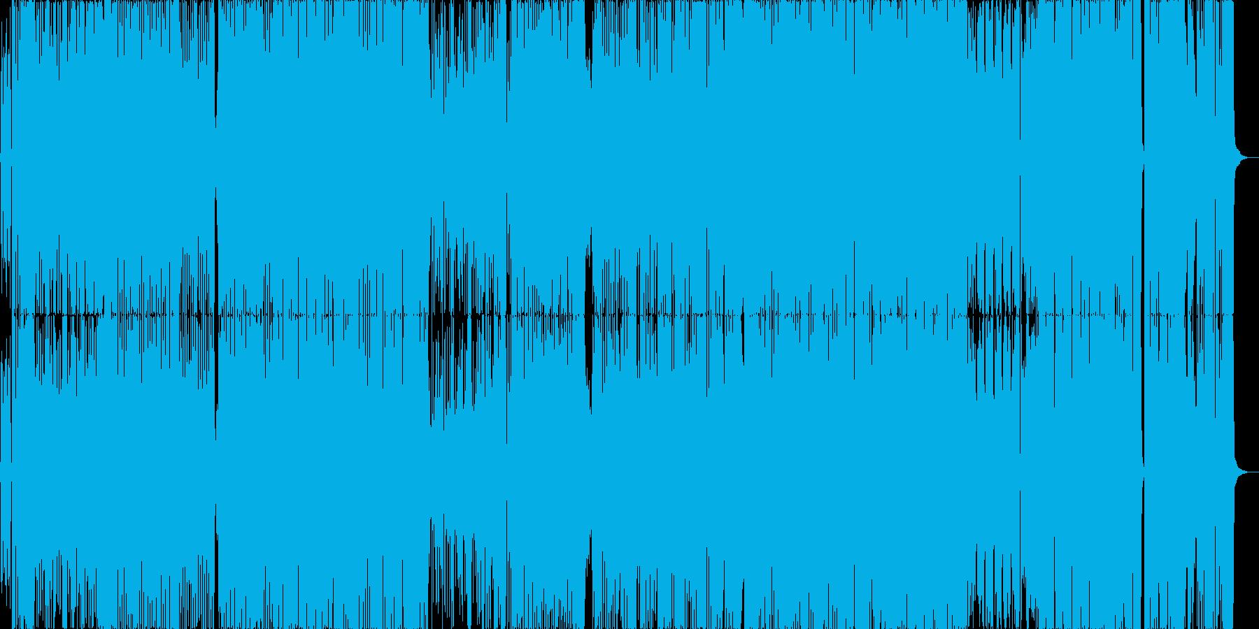 オープニングに最適ポップロックシャッフルの再生済みの波形