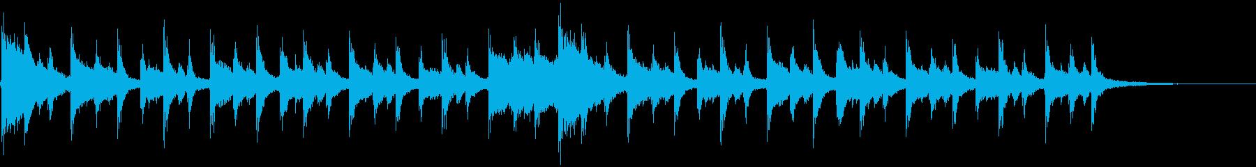 20秒程度の短い曲です。CMなどを想定…の再生済みの波形