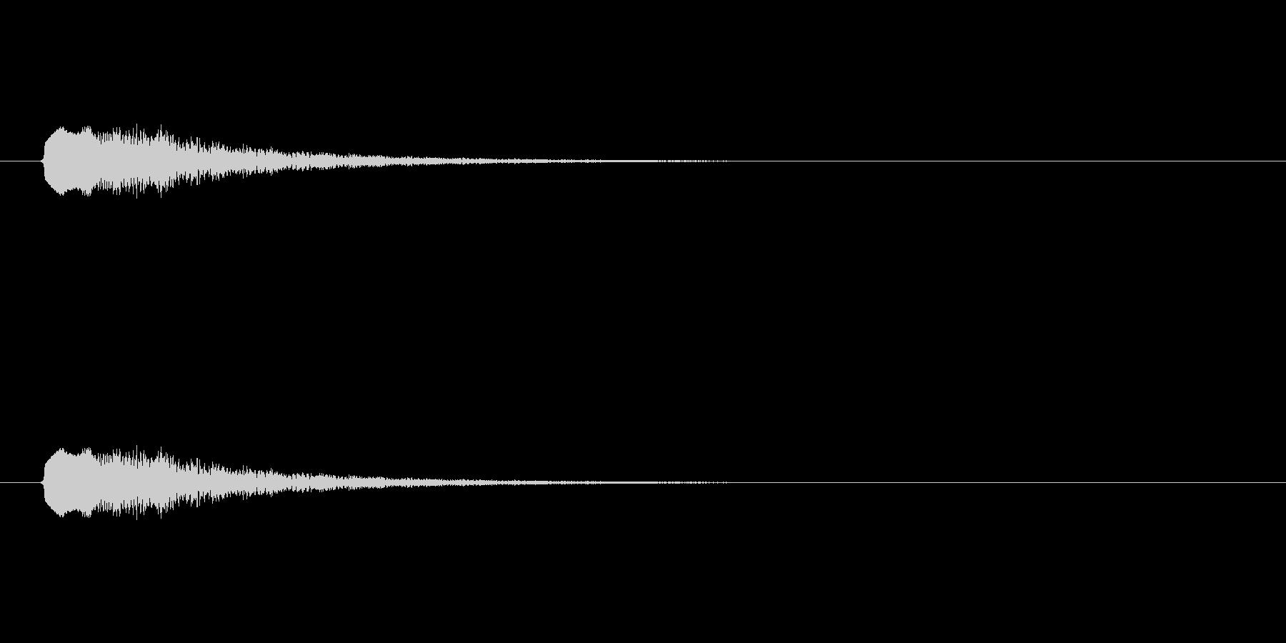 【ポップモーション18-4】の未再生の波形