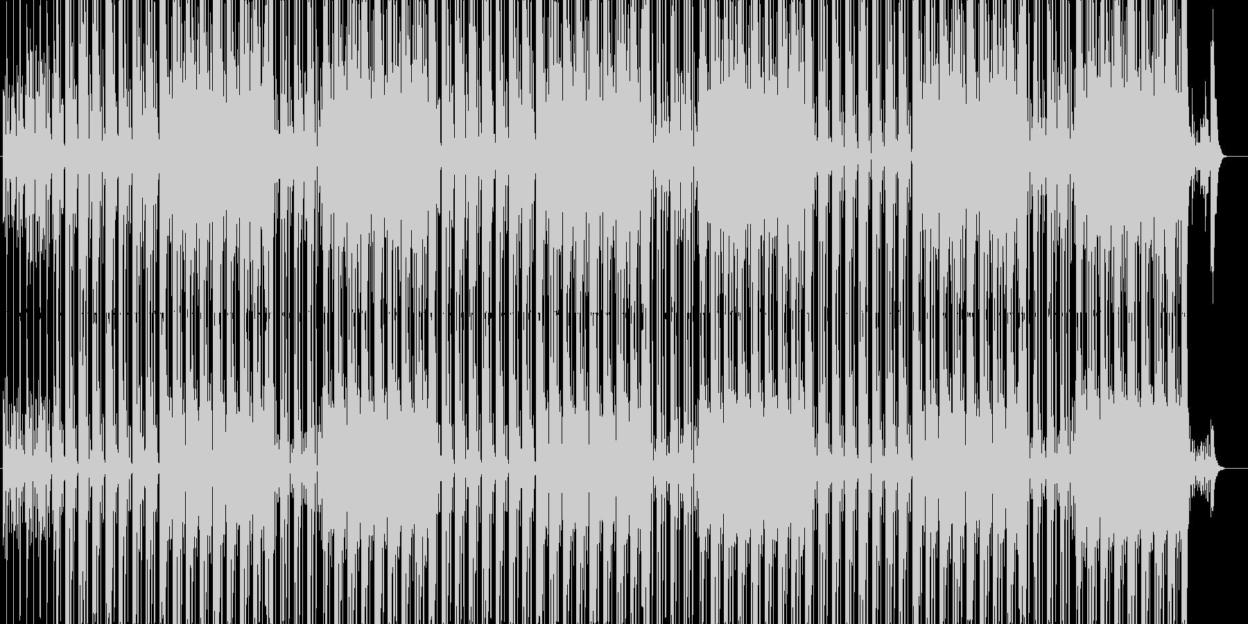 個性的なHIPHOPビートの未再生の波形