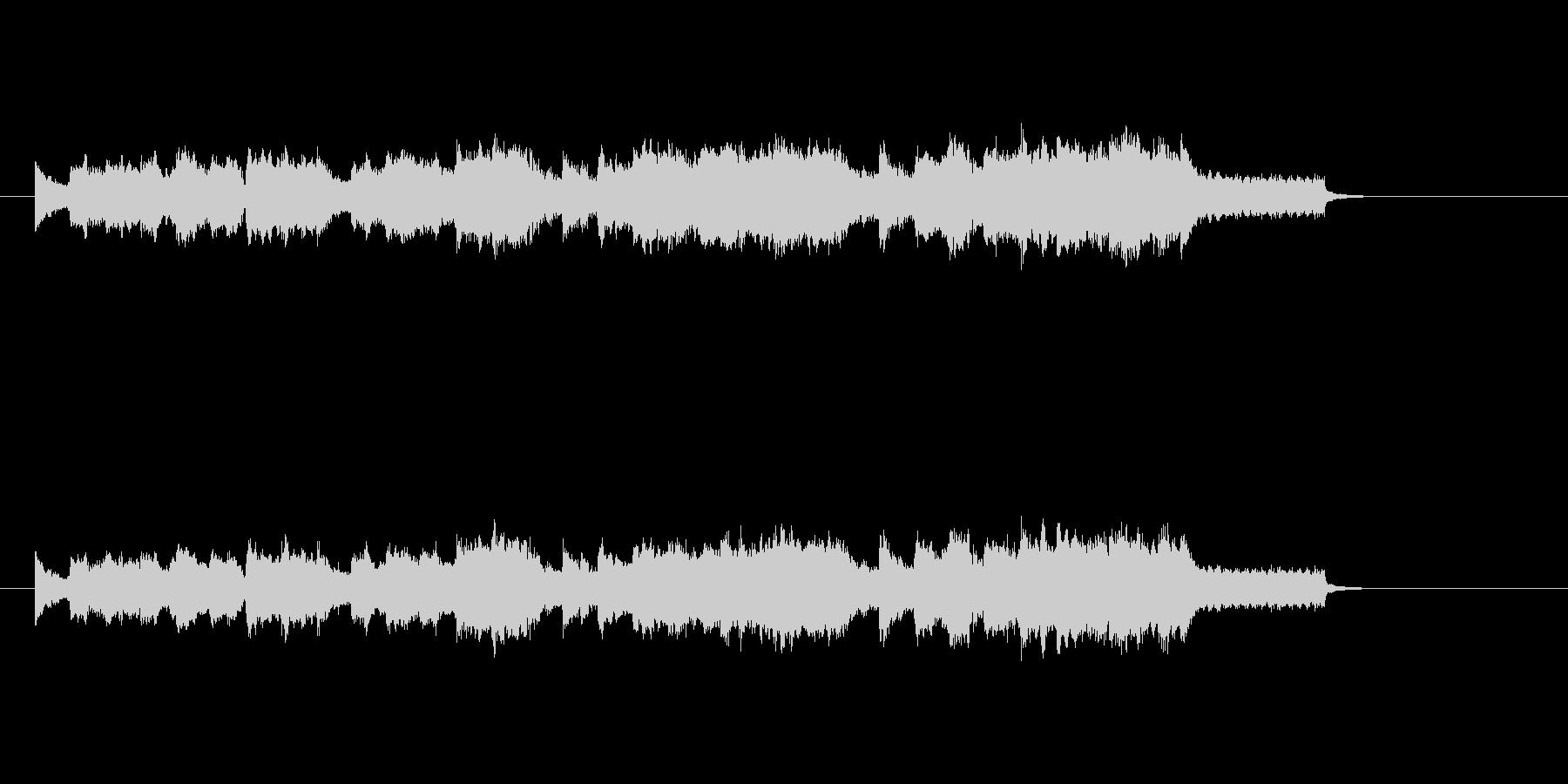 ストリングス 弦楽器 ほのぼのの未再生の波形