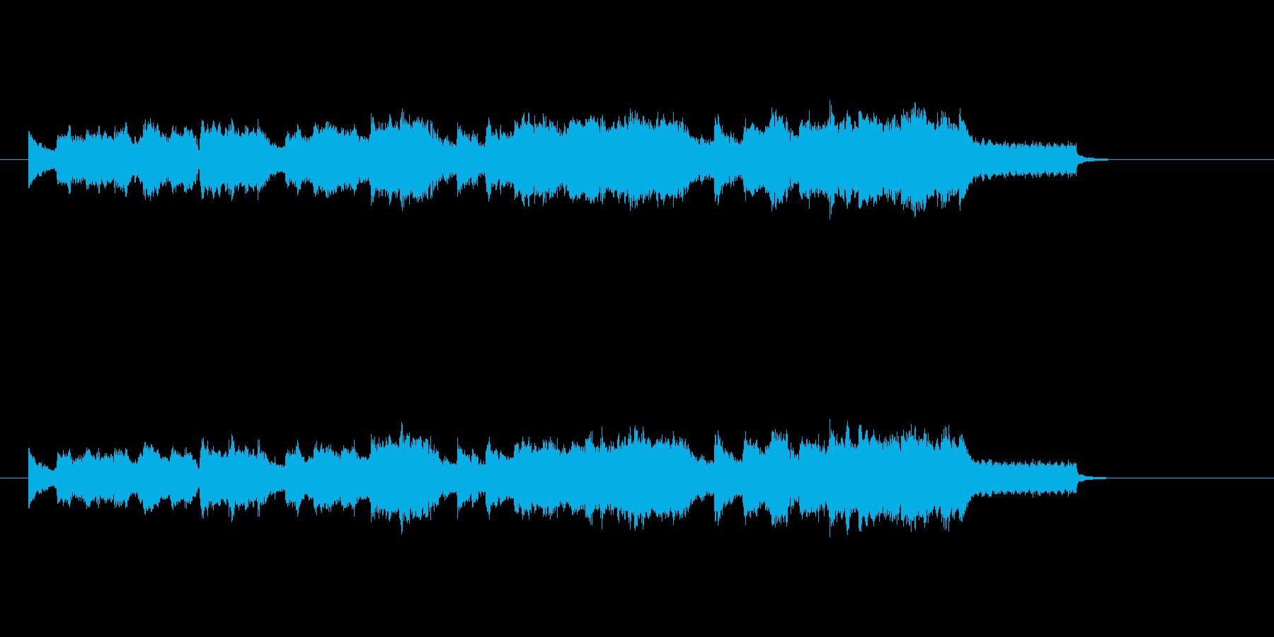 ストリングス 弦楽器 ほのぼのの再生済みの波形