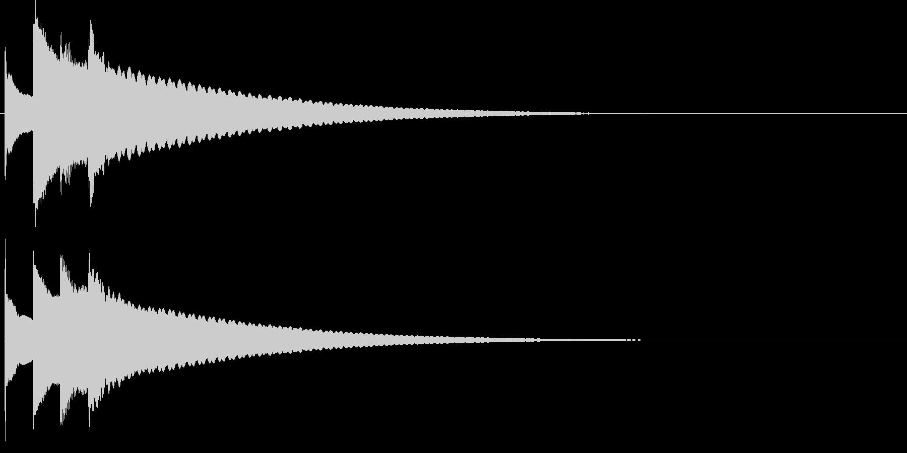 汎用15 ピンポンパンポーン(下降)の未再生の波形