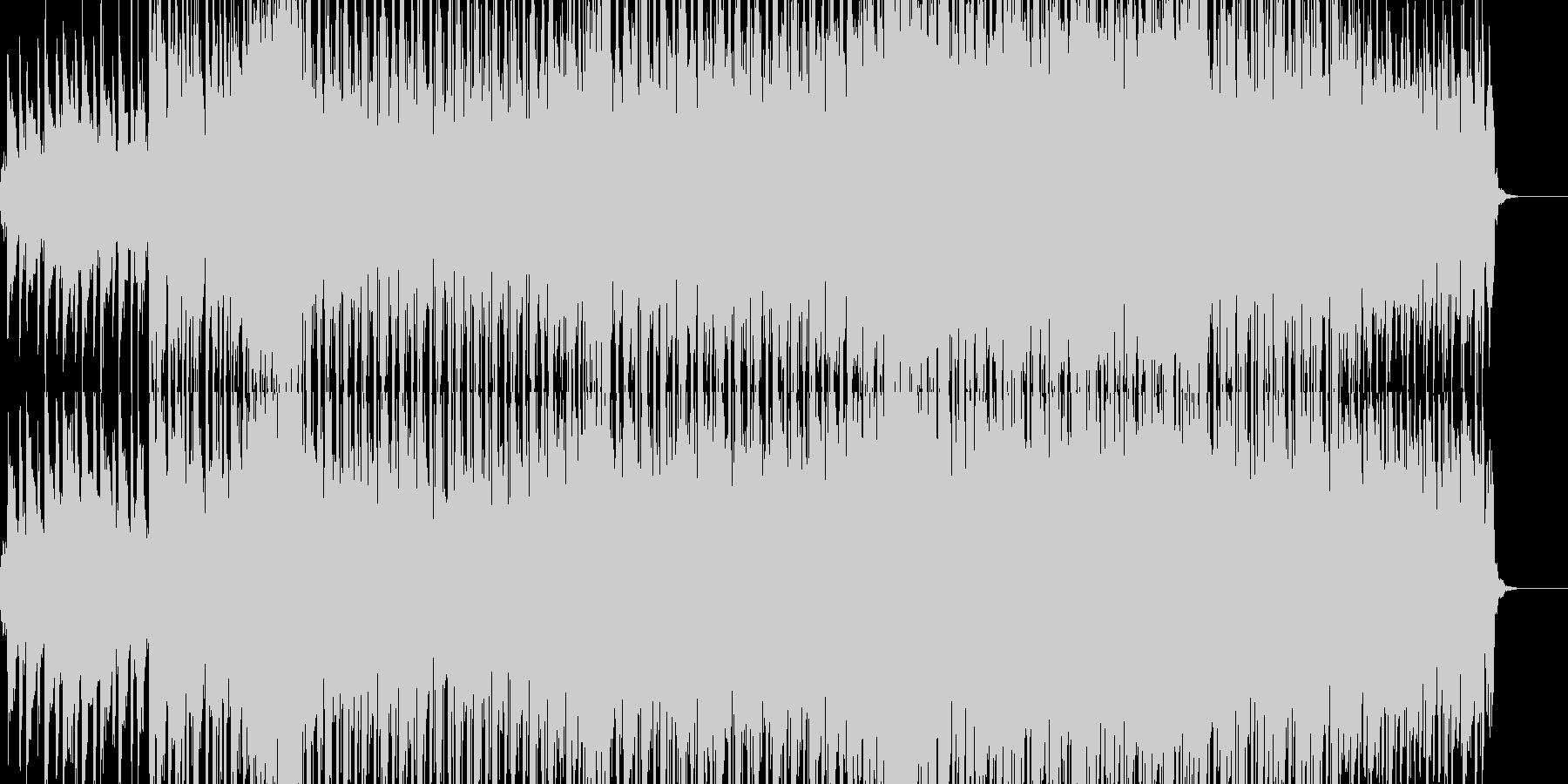 おしゃれなピアノのダンスミュージックの未再生の波形