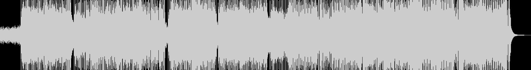和楽器をコミカルに取り入れた和ロックの未再生の波形