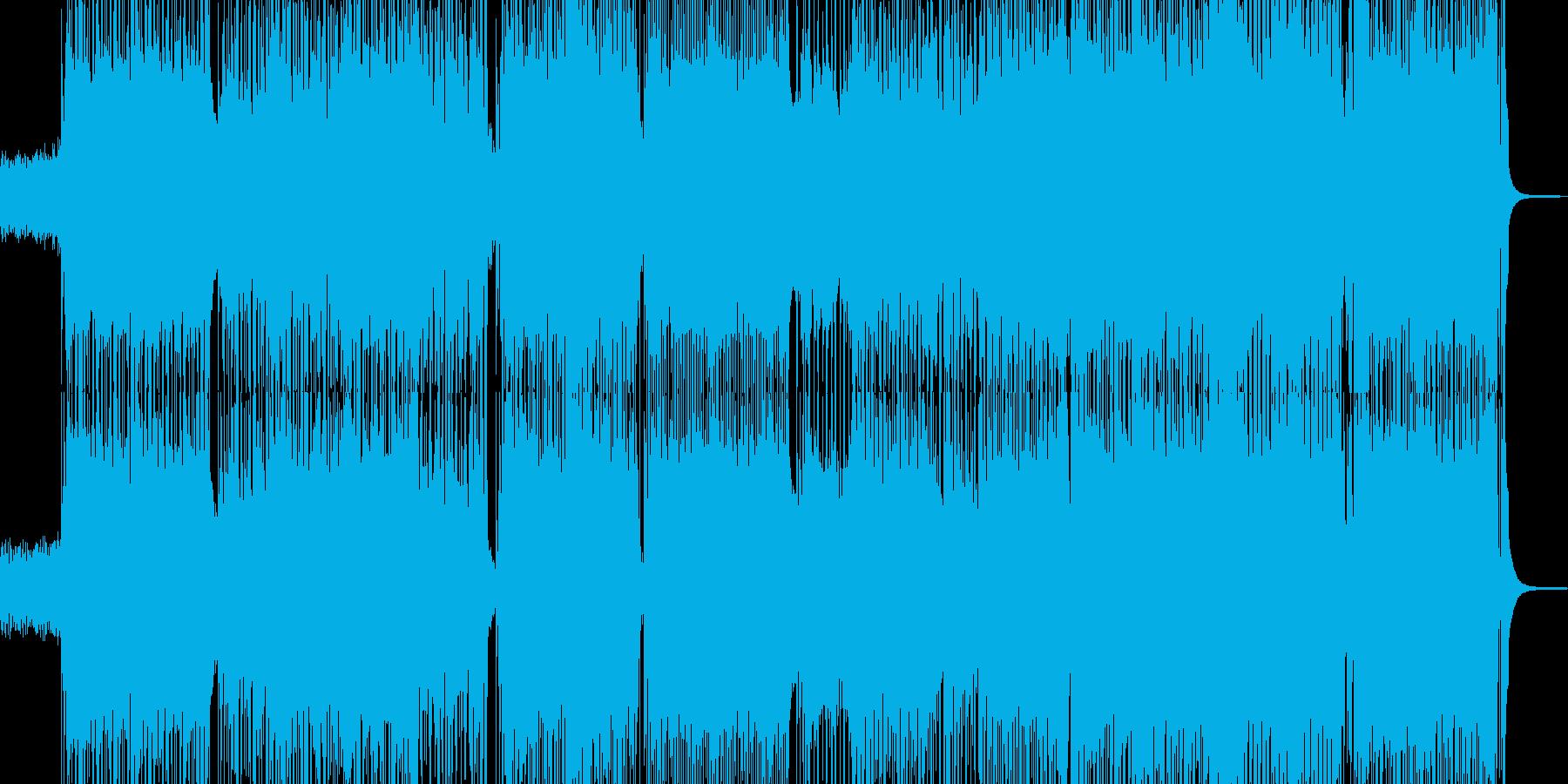 和楽器をコミカルに取り入れた和ロックの再生済みの波形