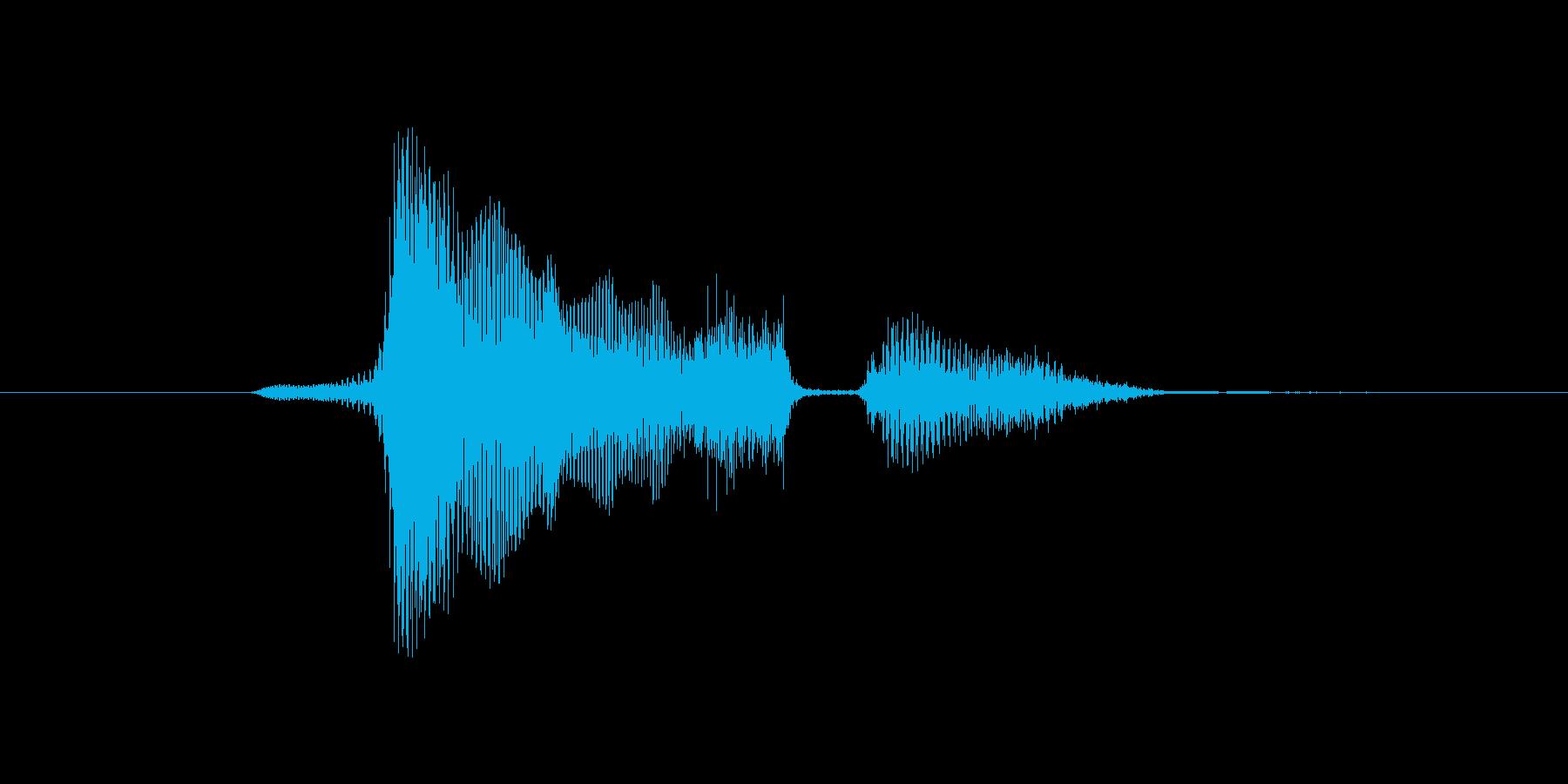 どうしての再生済みの波形