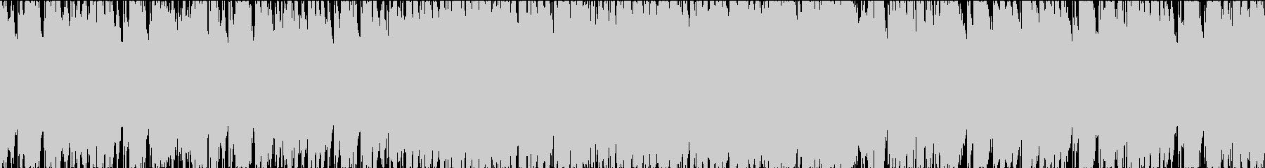 和風動画向け琴フュージョンループ3の未再生の波形