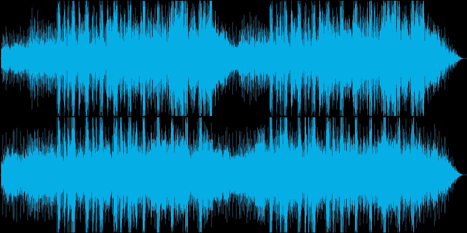 RPG向け幻惑的な森をイメージしたBGMの再生済みの波形