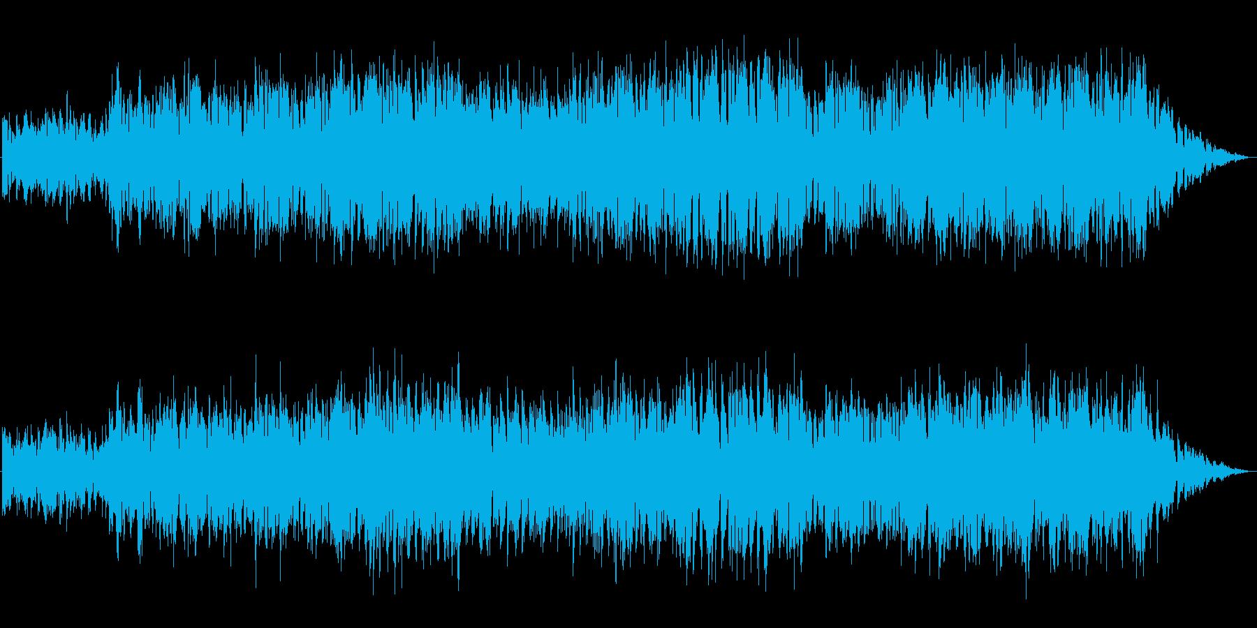 アイリッシュ系の落ち着いた街【ループ可】の再生済みの波形