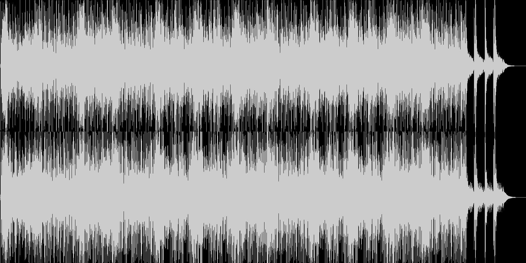 緊迫感・和風・ゲーム・映像用の未再生の波形