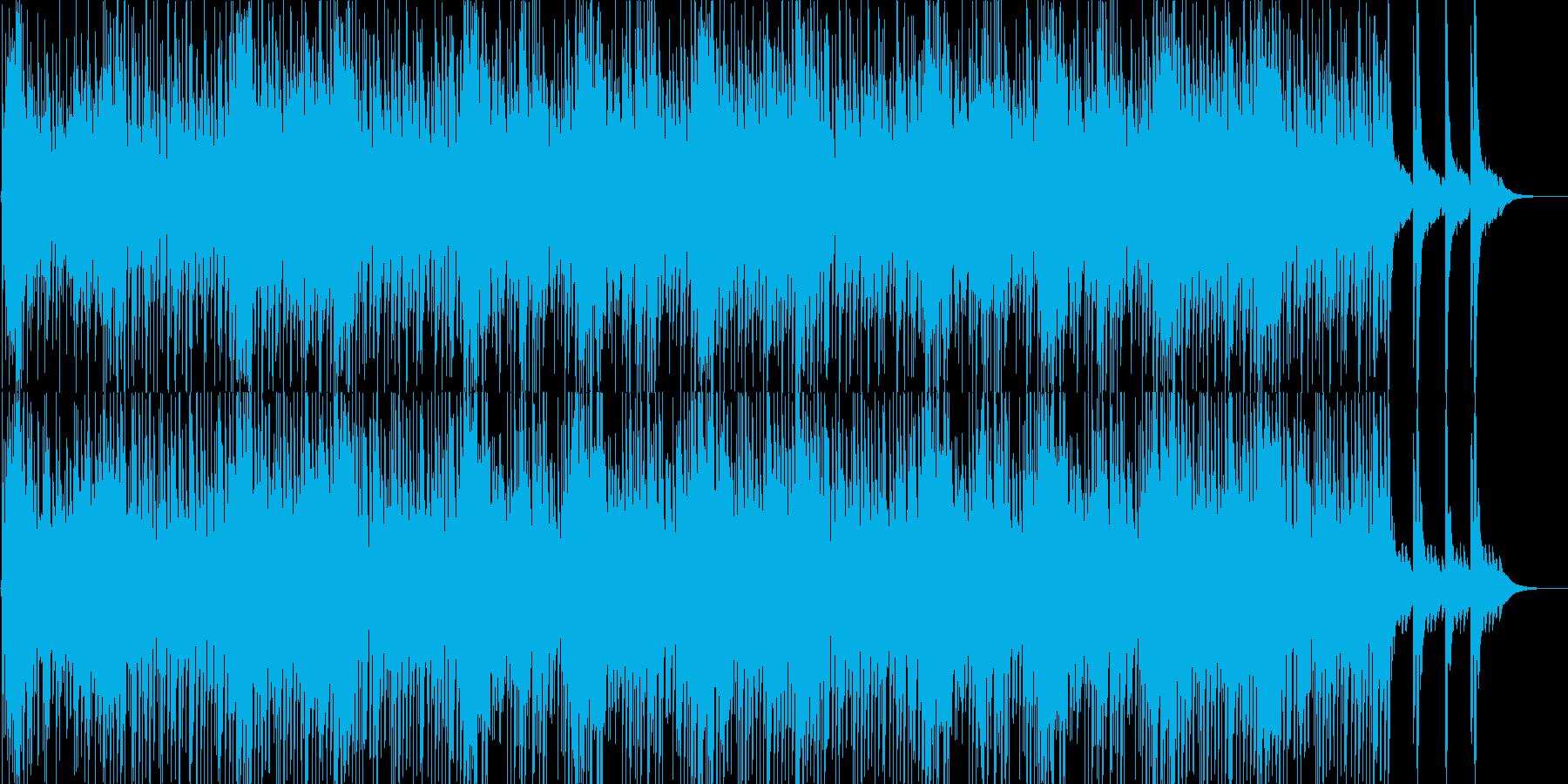 緊迫感・和風・ゲーム・映像用の再生済みの波形