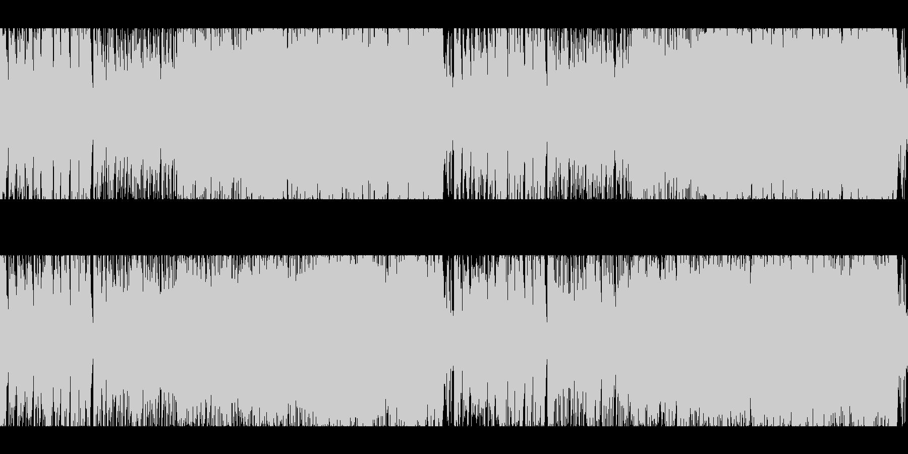 ループ:バトル/戦い/オーケストラ/緊迫の未再生の波形