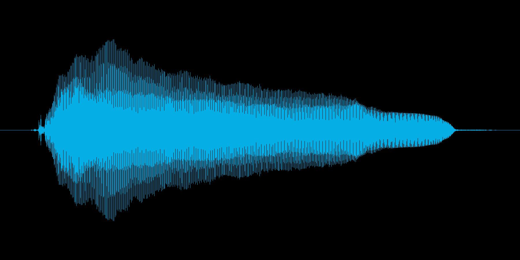 【ボイスSE】がーんΣ( ̄ロ ̄lll)の再生済みの波形