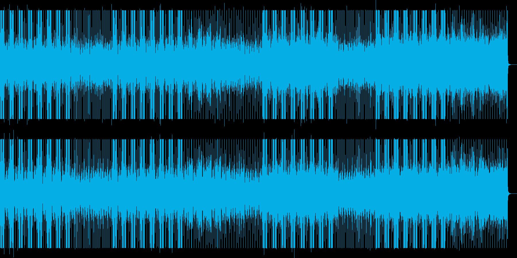 怪しい雰囲気や知的な雰囲気の木琴の再生済みの波形