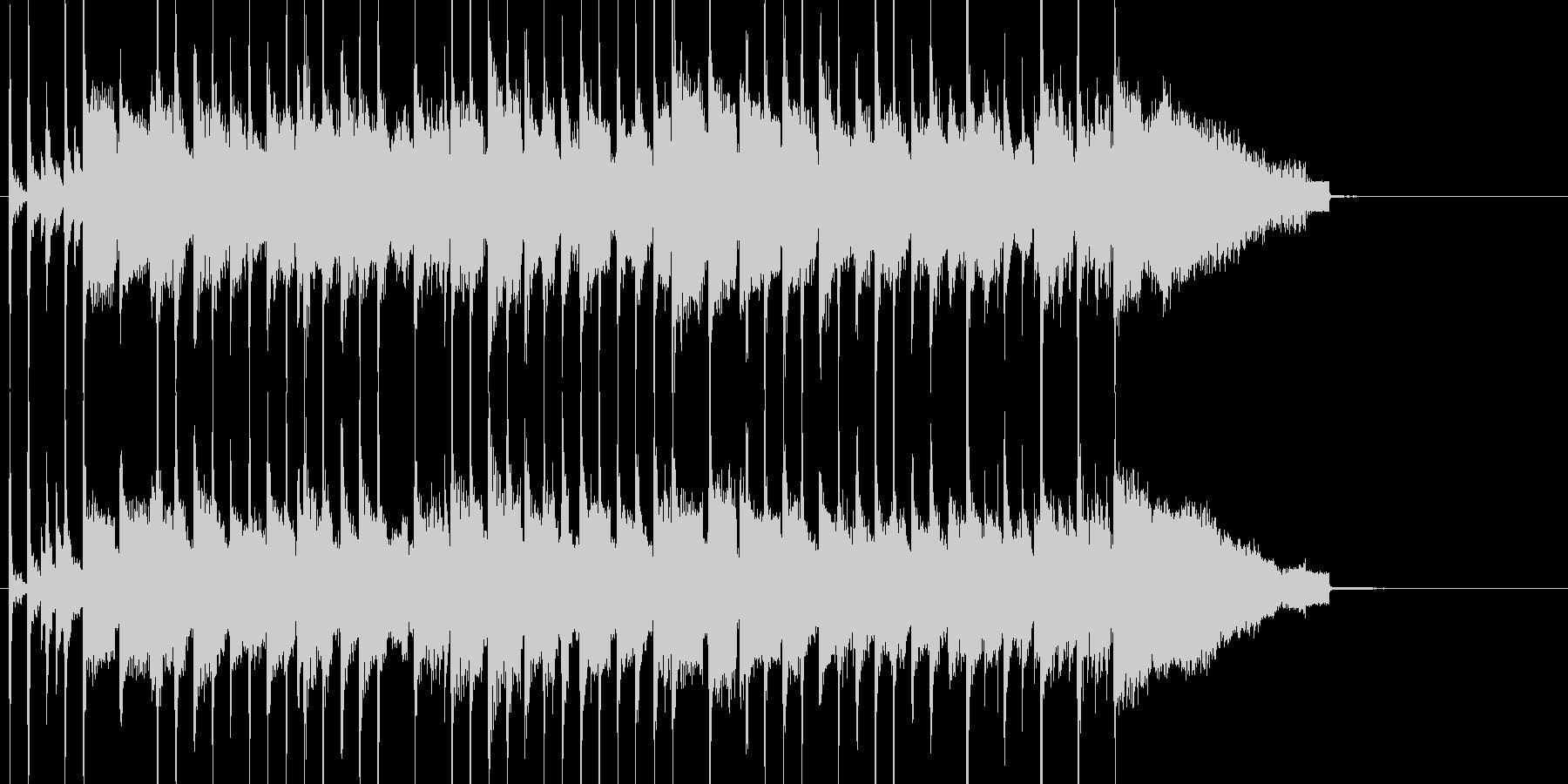 季節の移ろいをイメージ 感動的なバラードの未再生の波形