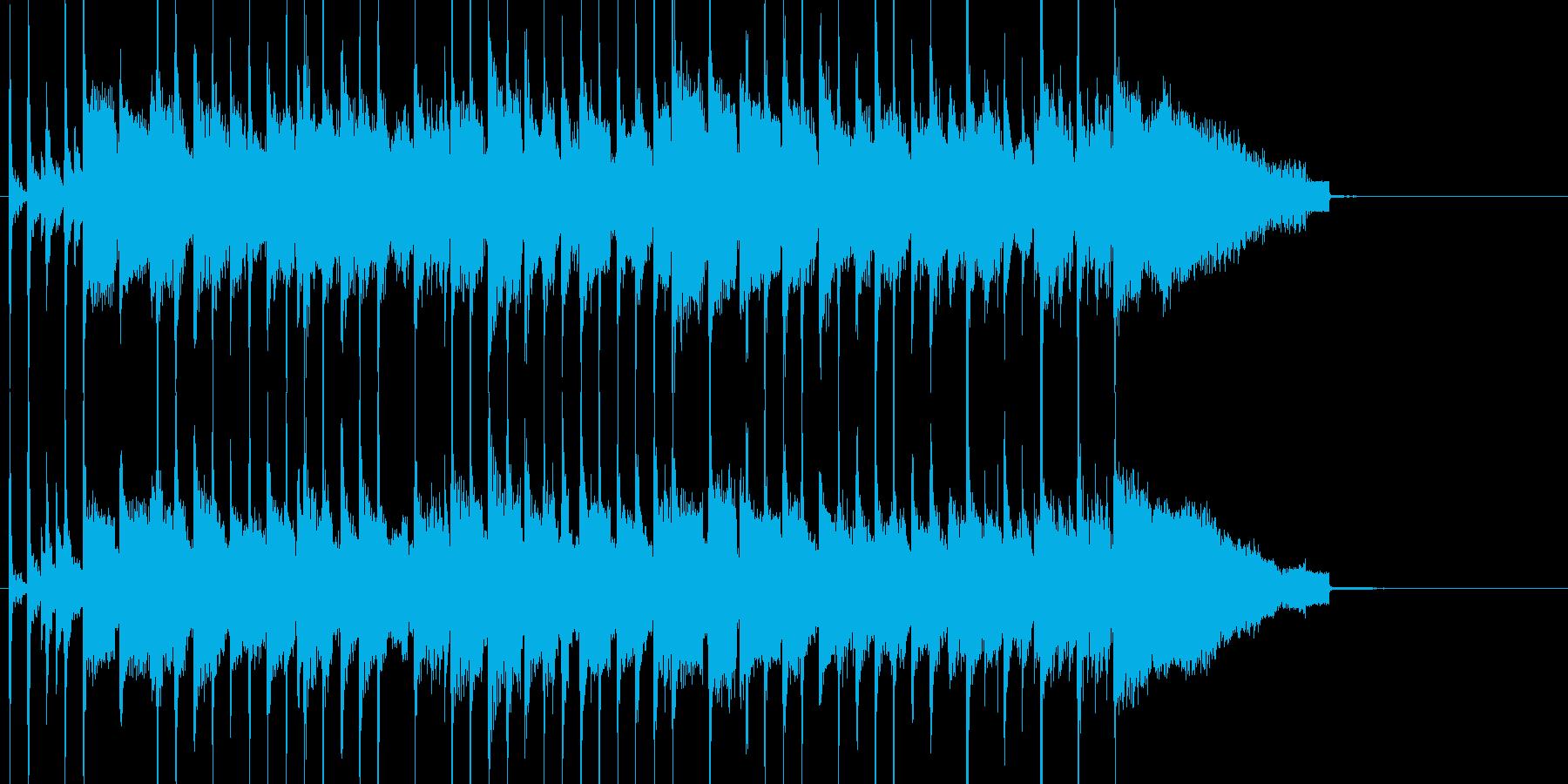 季節の移ろいをイメージ 感動的なバラードの再生済みの波形