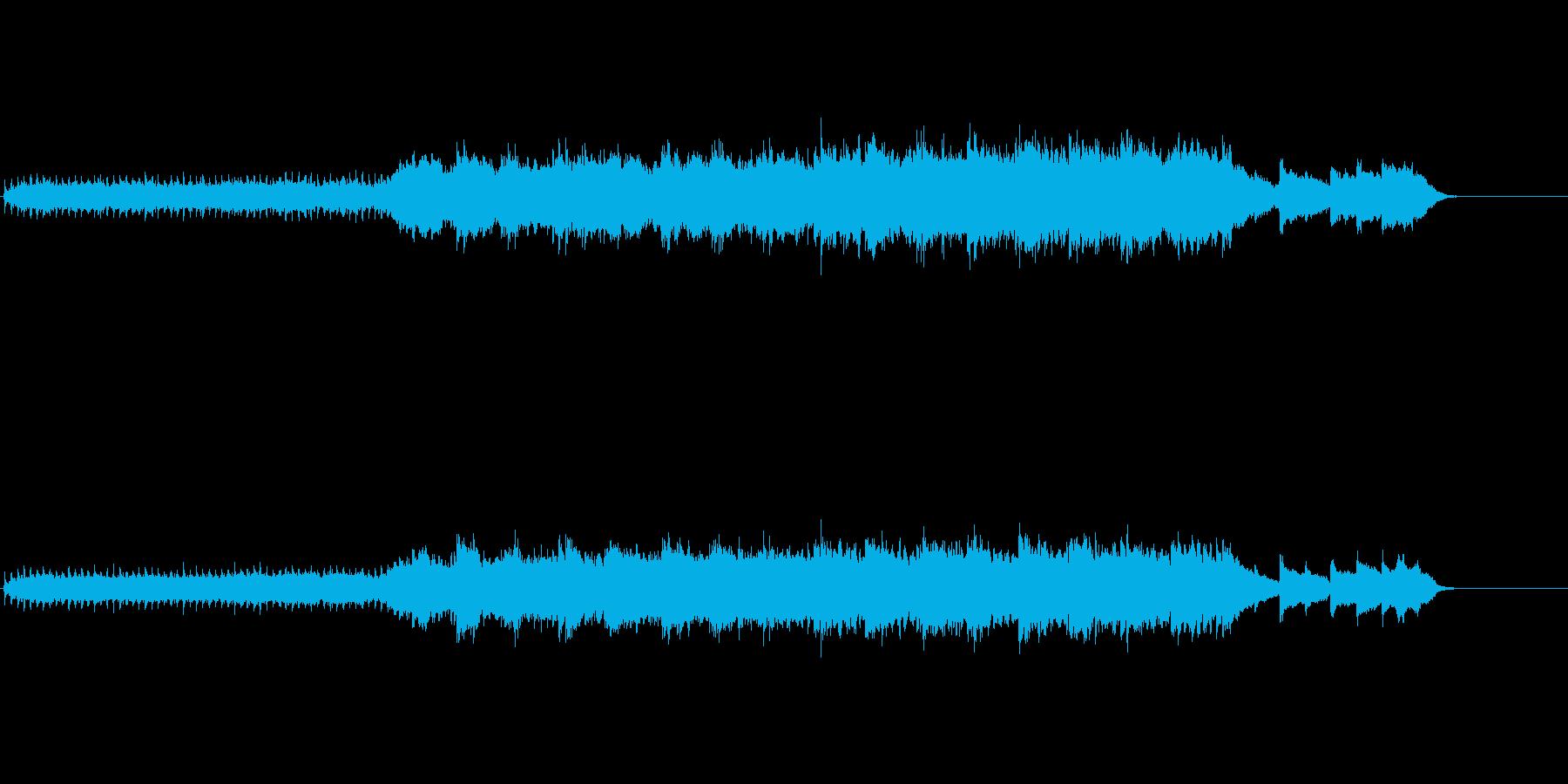 クリスマス・ソング風(白い恋人)の再生済みの波形
