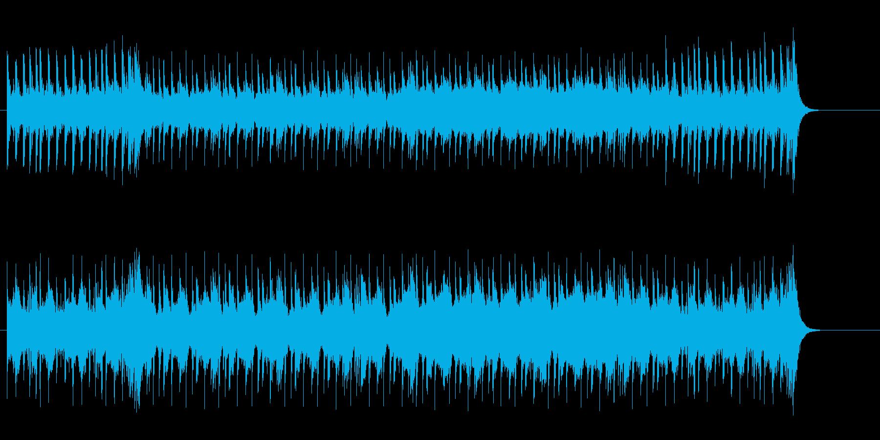 重く怪しいマイナー・エレクトリックの再生済みの波形