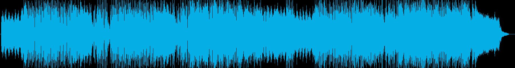 軽快と神秘を合わ持ったクラシックポップの再生済みの波形