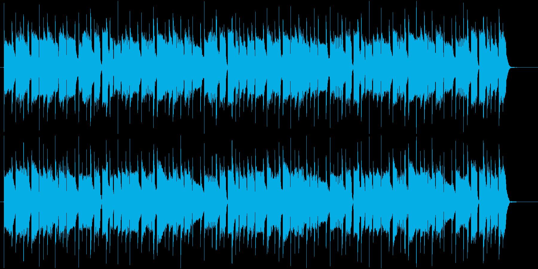 パズルゲームのメニュー画面に最適です。の再生済みの波形