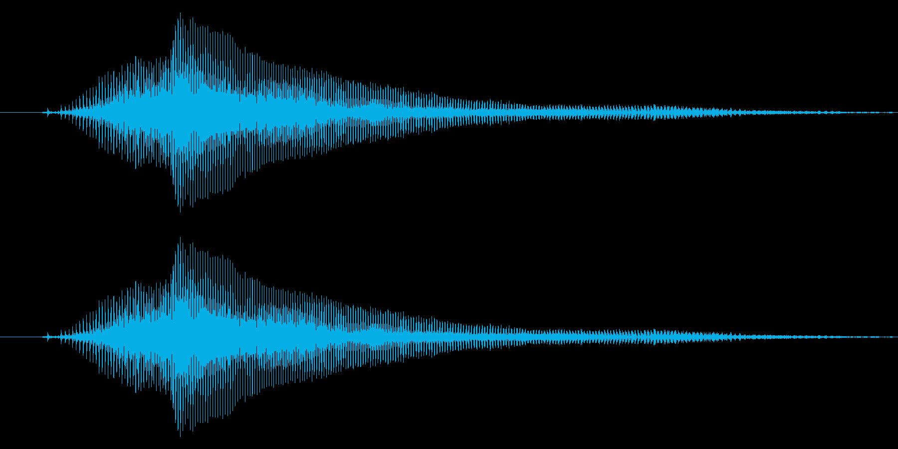 ↑いぇーい!(子供)【掛け声】の再生済みの波形