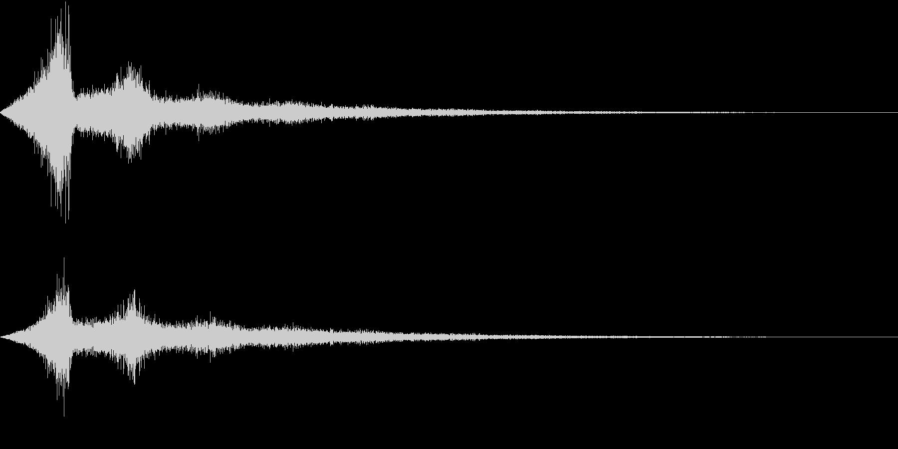 TV RADIO SFX5 強調効果音の未再生の波形